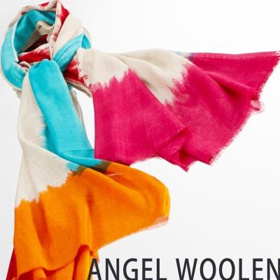 【ANGEL WOOLEN】渲染風情MODAL披肩(染)