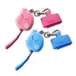 台灣製120分貝小惡魔爆音附LED燈防身警報器(天空藍/粉紅)兩色可選