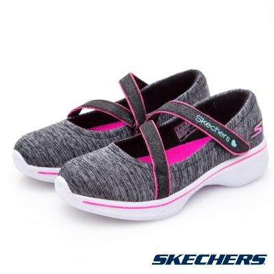 SKECHERS(童)女童系列 GO WALK 4 - 81139LBKHP