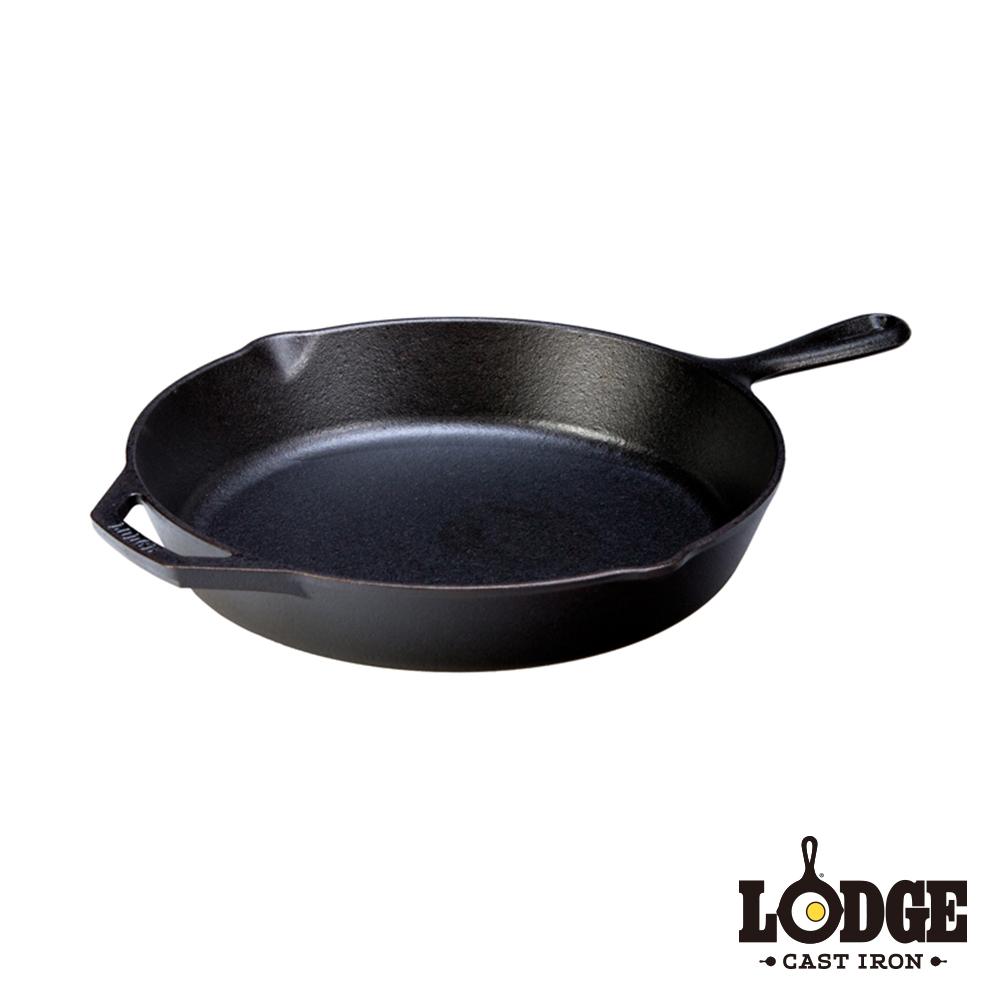 Lodge 鑄鐵平底煎鍋 30公分/12吋
