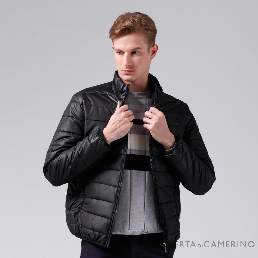 ROBERTA諾貝達 休閒極品 禦寒必備 厚舖棉夾克外套ROE70-99黑色