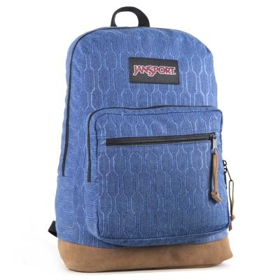JanSport DIGITAL背包(RIGHT PACK)-蜂巢藍