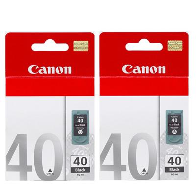 CANON PG-40  原廠墨水匣組合(2黑)