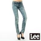 Lee牛仔褲 超低腰修身窄腳 403 -女款(中漂二手藍)