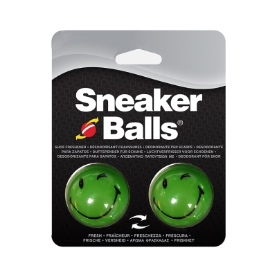 美國SOFSOLE Sneaker Balls 天然除菌香香球-綠笑臉
