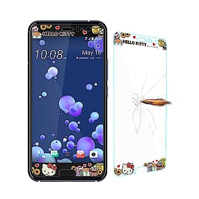 三麗鷗正版 HTC U11 全隱形玻璃保護貼(瑪芬凱蒂) 非滿版