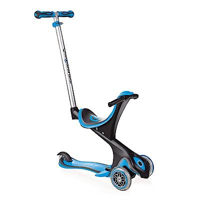 2018法國GLOBBER哥輪步EVO兒童5合1三輪滑板車-天空藍色