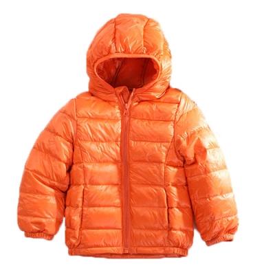魔法Baby 輕量極保暖90%羽絨外套 橘 k60450