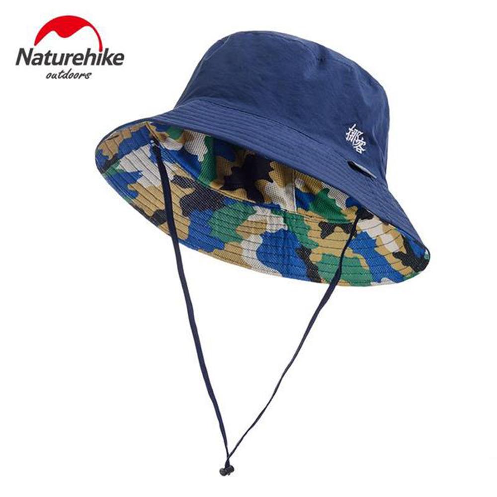 Naturehike 迷彩潮流款速乾透氣漁夫帽 遮陽帽 防曬帽 五色任選