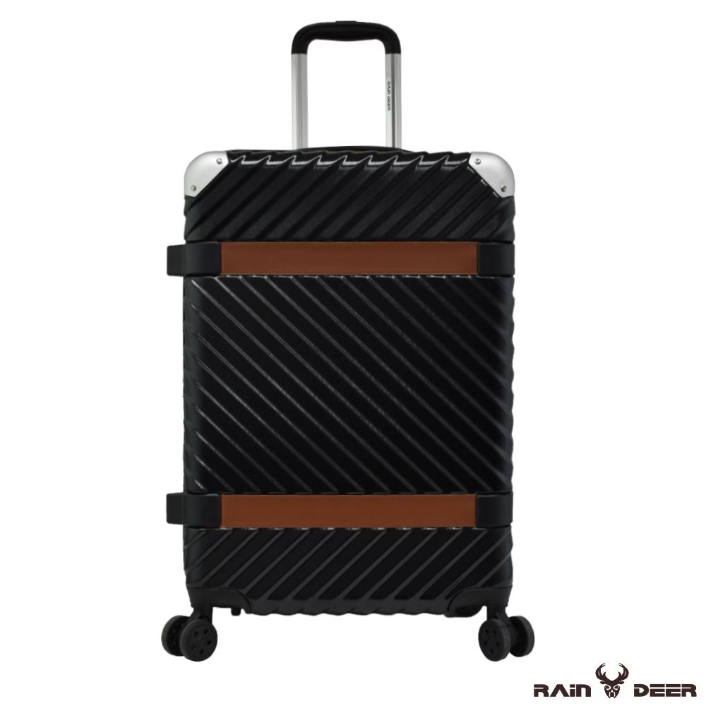RAIN DEER 賽維亞29吋PC+ABS亮面行李箱-曜石黑