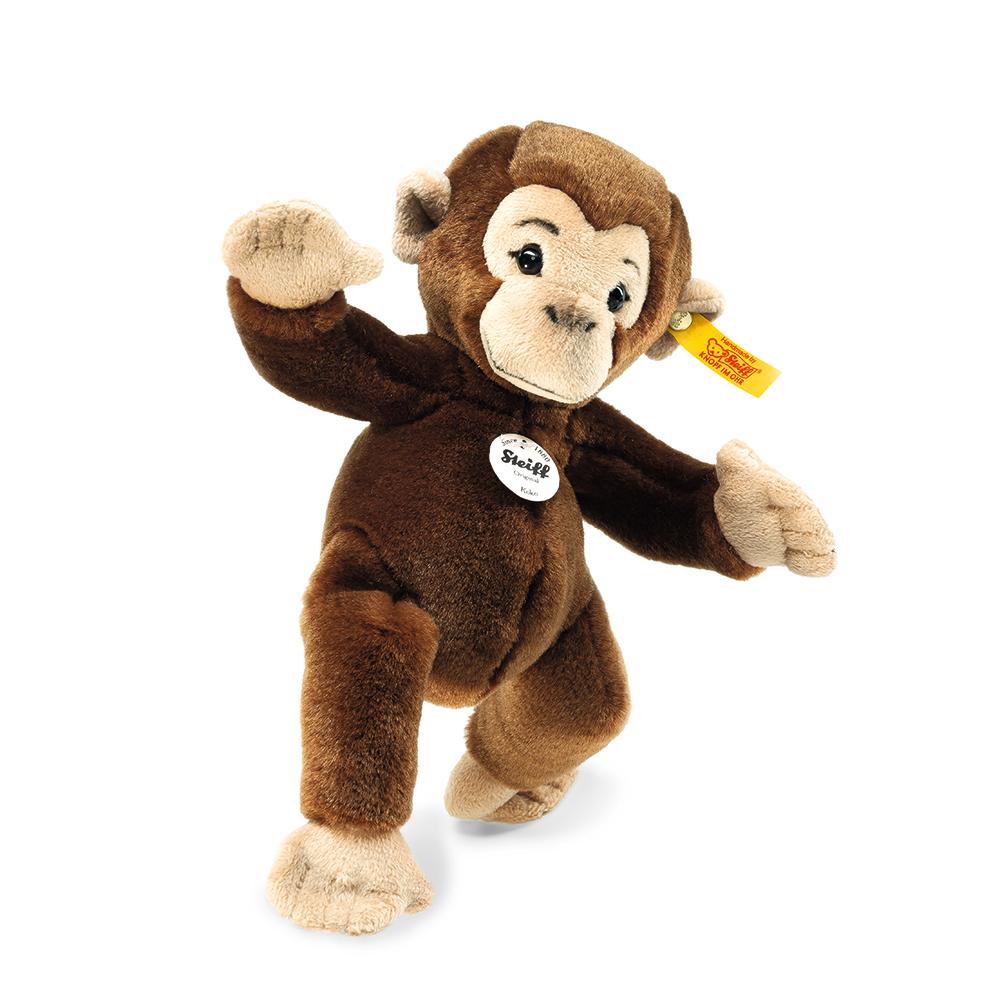 STEIFF德國金耳釦泰迪熊 - KoKo Chimpanzee 猩猩 (動物王國)