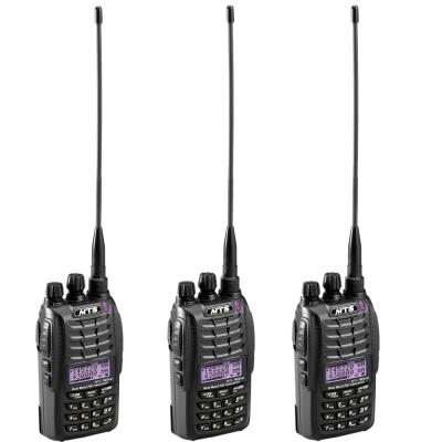 MTS TW2VU 專業無線電雙頻對講機 (豪華套餐 <b>3</b>入組)