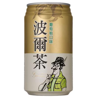 金車-波爾茶-葡萄柚口味-330ml-24入-箱
