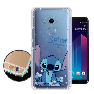 迪士尼授權正版 HTC U11+ / U11 Plus 星星系列 空壓安全手機殼(史迪奇)