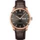 MIDO美度 Belluna Gent 經典日期機械錶-灰x咖啡色錶帶/42mm M0246303606100 product thumbnail 1