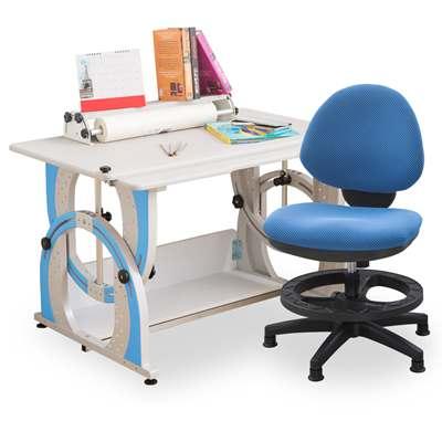 時尚屋 溫德爾兒童伸縮成長書桌椅組可選色/免運費/台灣製