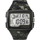 TIMEX 天美時EXPEDITION SHOCK戶外系列多功能電子腕錶-綠迷彩-50mm