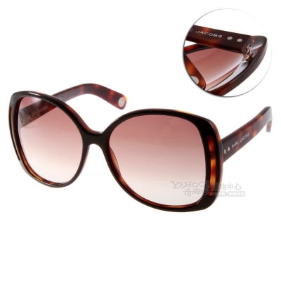 MARC JACOBS太陽眼鏡 時尚方框款/琥珀#MJ408S UR05M