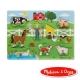 美國瑪莉莎 Melissa & Doug 聲音拼圖 -  英文童謠 , 王老先生的農場 product thumbnail 1