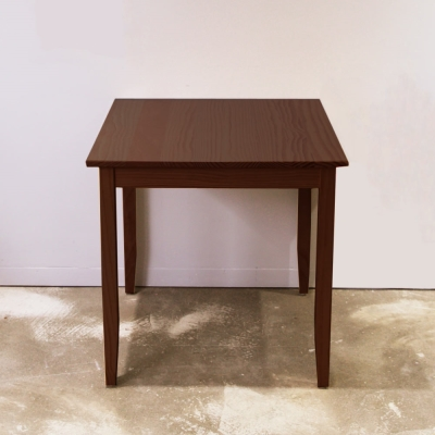 CiS自然行實木家具-實木桌74x74cm (焦糖色)