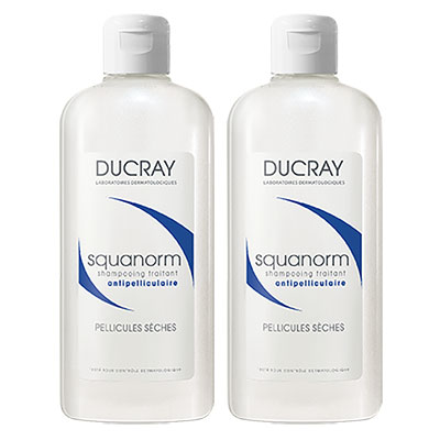 DUCRAY護蕾-舒緩抗屑洗髮精200ml2入組