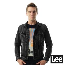 Lee 黑色復古牛仔外套/VL -男款-黑色