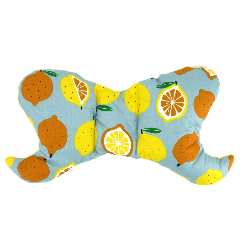 兒童防扁頭泡泡絨定型枕-共5款