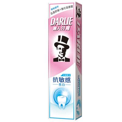 黑人抗敏感牙膏 亮白配方 120g