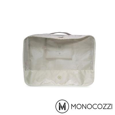 MONOCOZZI Lush 旅行衣物收納包 Apparel Pack (S)-卡其色