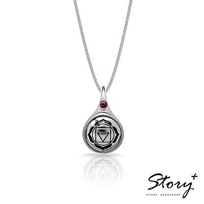 STORY故事銀飾-脈輪系列-海底輪Root Chakra純銀項鍊