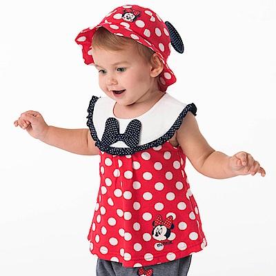 Disney baby米妮系列甜美點點圓領上衣 (2色可選)
