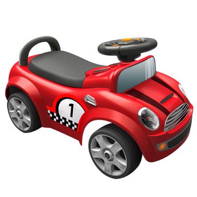 【寶貝樂】摩登賽車造型助步車-紅