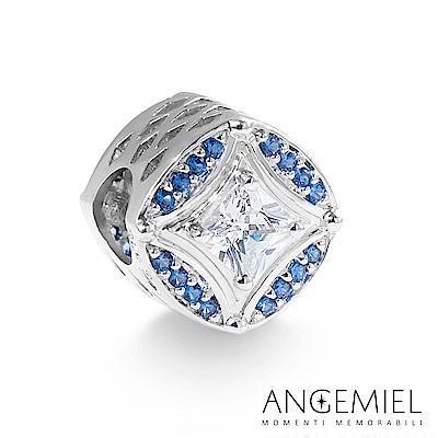 Angemiel安婕米 925純銀 串珠 湛藍公主心