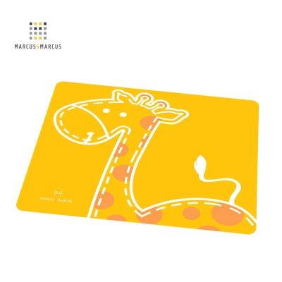 加拿大 MARCUS&MARCUS動物樂園矽膠餐墊(長頸鹿)