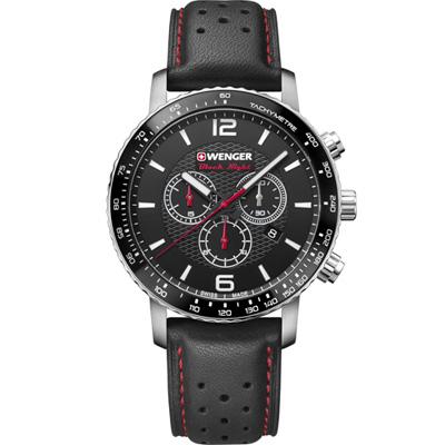 瑞士WENGER Roadster 速度競速計時腕錶(01.1843.101)