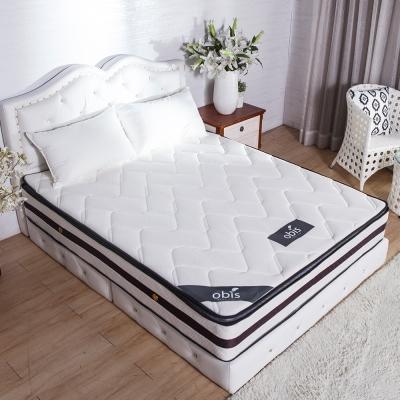 獨立筒 單人3.5尺 Caesar三線天絲乳膠蜂巢獨立筒床墊 25cm obis