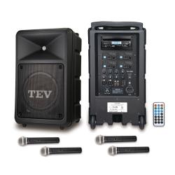 TEV 藍芽/CD/USB/SD四頻無線擴音機 TA680iB-4