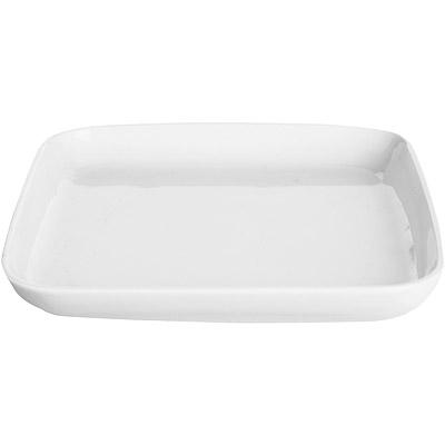 EXCELSA White白瓷淺餐盤(方23.5cm)