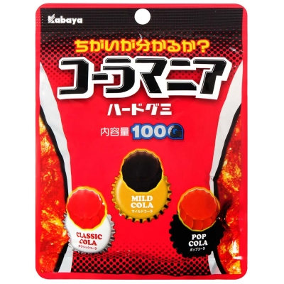Kabaya 3種可樂軟糖(100g)