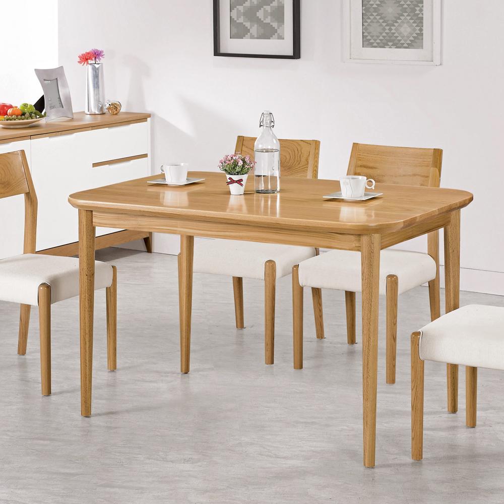 CASA卡莎 麥絲橡木全實木長方餐桌
