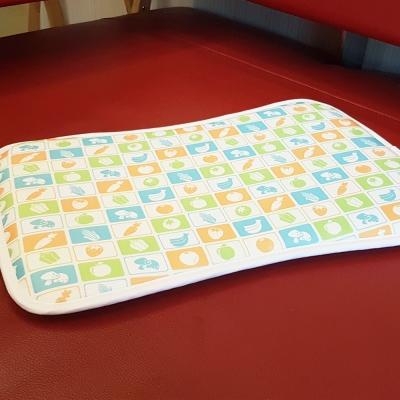 凱蕾絲帝-3D挑高透氣《可水洗》循環散熱繽紛嬰兒枕/趴睡枕-水果拼盤