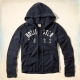 Hollister HCO 長袖 文字 連帽外套 藍色 264 product thumbnail 1