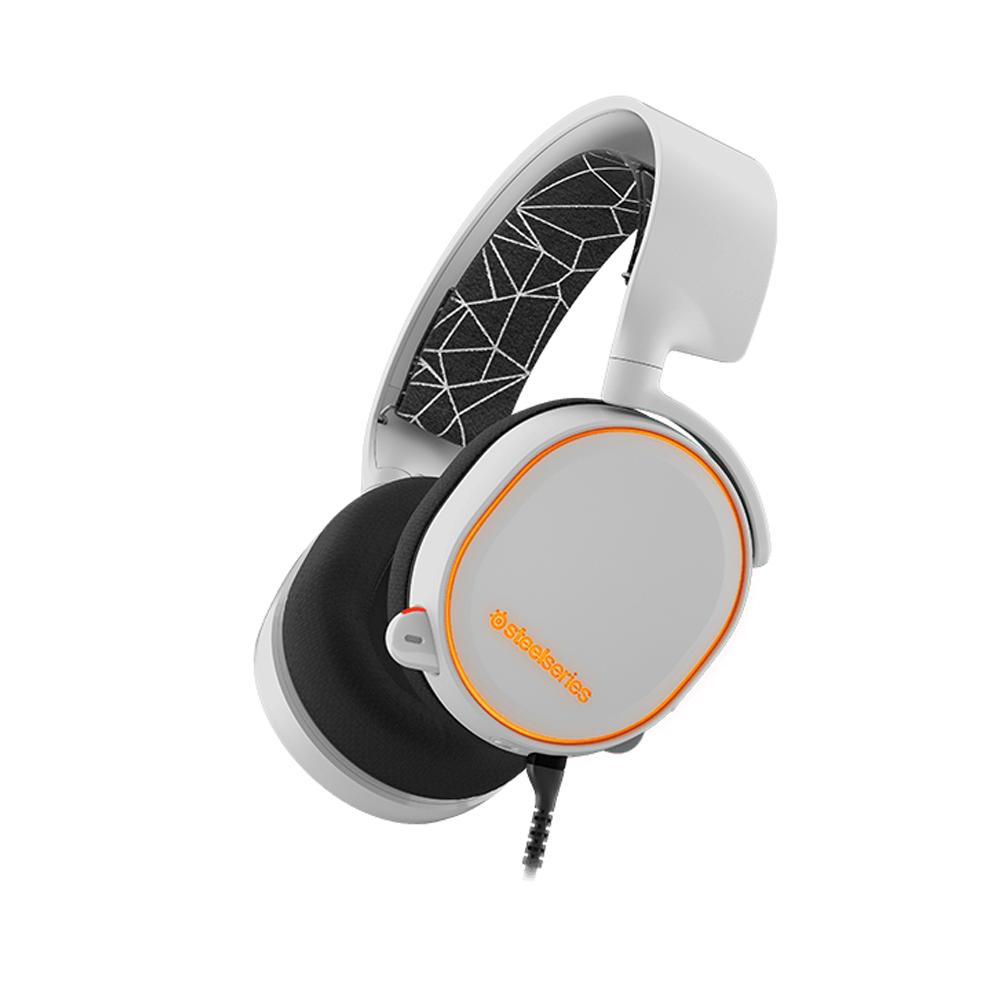 SteelSeries Arctis 5 耳機麥克風(白)