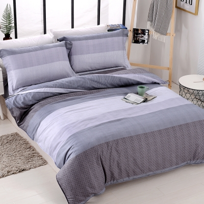 COOZICASA青嵐氣息 雙人四件式吸濕排汗天絲兩用被床包組