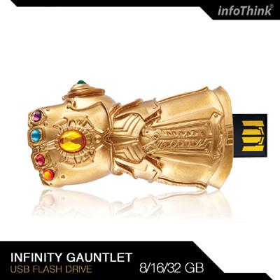 InfoThink 復仇者聯盟無限手套隨身碟8GB