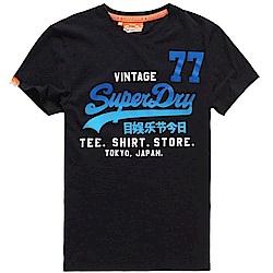 SUPERDRY 極度乾燥 男 T恤 黑色 0643