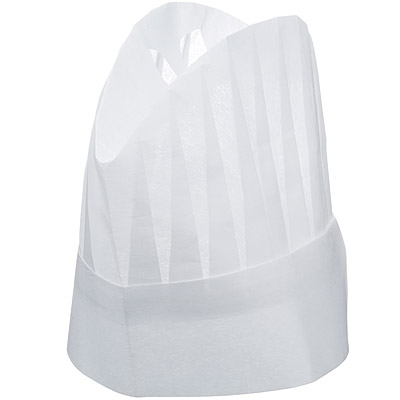 KitchenCraft 紙製廚師帽5入