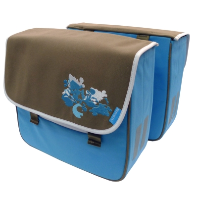 【hilltop山頂鳥】BASIL 藍色風情單車馬鞍T34XO0