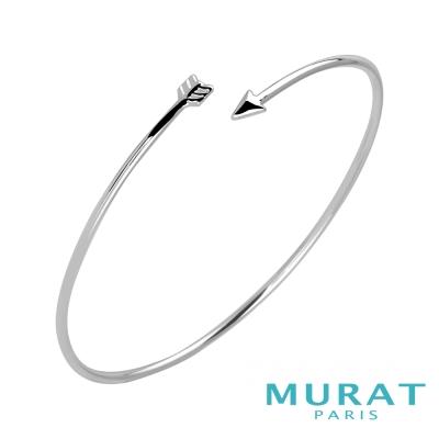 MURAT PARIS米哈巴黎 時尚銀箭手環