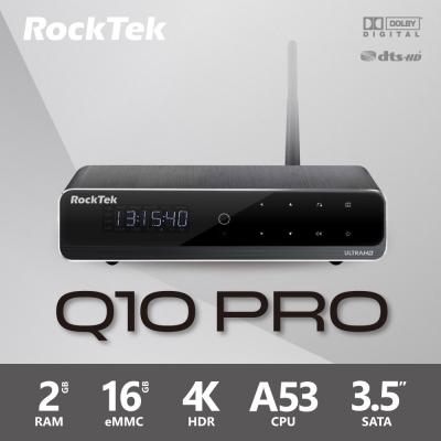 RockTek Q10 PRO 64位元四核心4K極致影音旗艦機皇